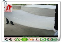 New decorative fiber cement board exterior wall cladding of building construction