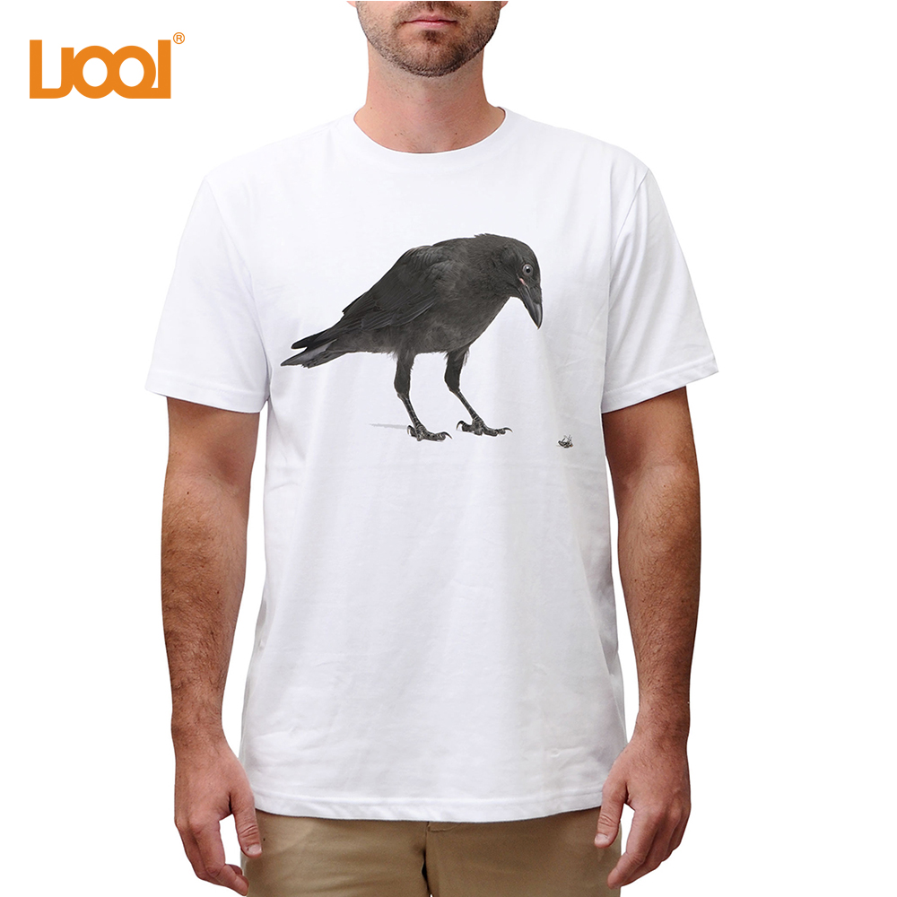 Summer Men O-Neck Short Sleeve 180g 100% Cotton Custom Washed Screen Printing Vintage T Shirts