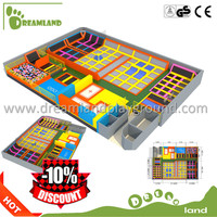 Safety adult commercial big cheap indoor trampoline park
