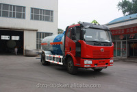 FAW 10cbm LPG Tank Truck 4*2 Liquefied Petroleum Gas delivery truck