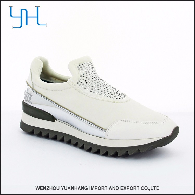 Modern Popular Factory Making Adults Led Upper Shoes