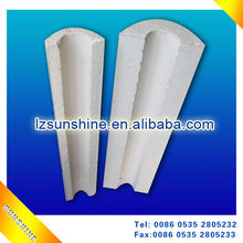 Calcium silicate insulation section pipe /Protective equipment