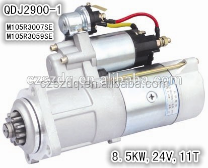 great performance 24V 8.5KW prestolite starter motor with ISO certification
