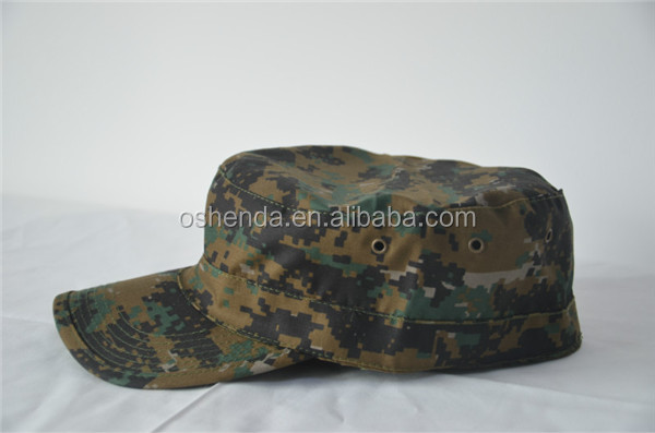 Army Blending Twill hat , Ripstop Italy Camo Hats army garrison cap