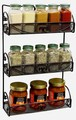 3-Tier Wall-Mounted Spice Rack