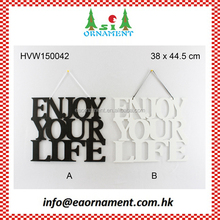 Wooden wall hanging for decoration home
