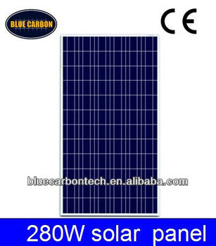 high effiency and low price Polycrystalline panel Solar 280W