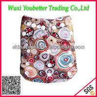 Eco-friendly Baby Nappies Washable Cloth Diapers Wholesale