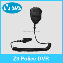 Police law enforcement video camera portable body worn camera with 32G built-in memory card
