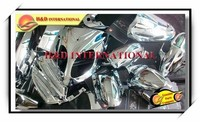 Factory direct selling wholesale Chinese scooter chrome parts for various models scooter chrome parts