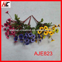 Plastic daisy artificial flowers yiwu 2013 new