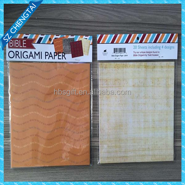 Paper full color printing note card