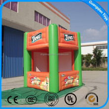 Guangqian Advertising Photo Booth Inflatable Air Tent House Model For Promotion