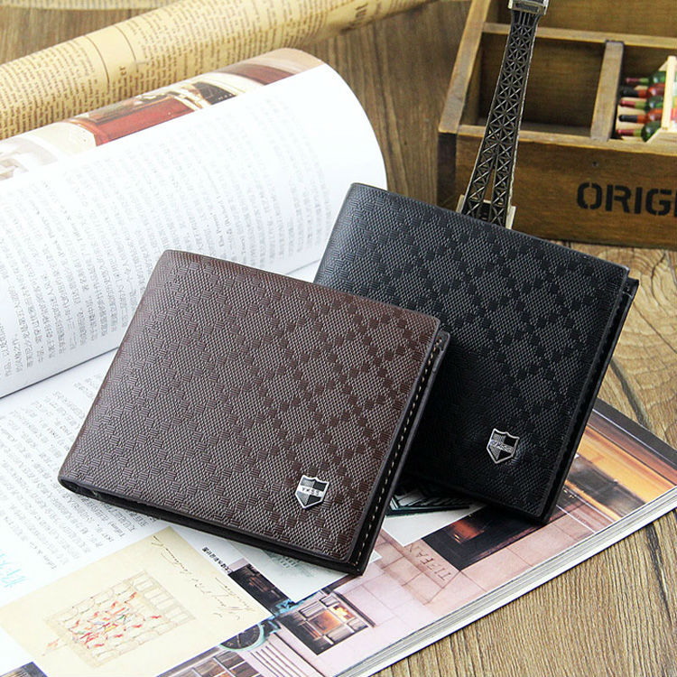 best selling RFID blocking short leather men <strong>wallet</strong>