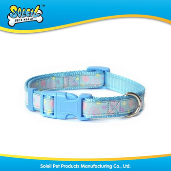 New Pet Accessory Nylon Dog Collar And Leash