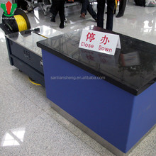 Commercial furniture airport metal inspection and quarantine counter