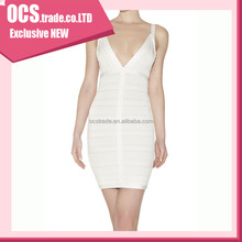 Latest Popular Hot Sale Sexy Cheap white mini hl dress