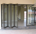 Luxury energy efficient folding doors for interior