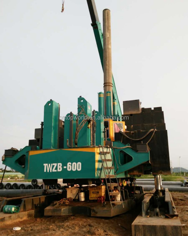 TWZB150+ jack-in machine/injection machine/foundation piling machine