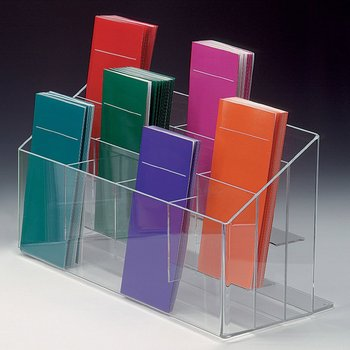 3 tier counter top acrylic display