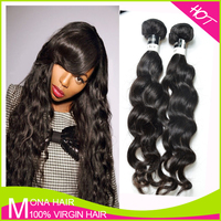 High quality whloesale price fast shipping bouncy full end hair for wig making