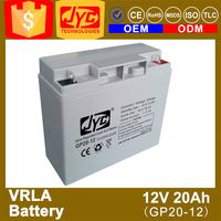 ISO CE ROHS TLC Certificate 20ah 48v lead acid battery for electric bike
