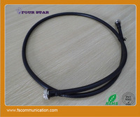 1/2'' foam feeder cable assembly 7/16 male to 7/16 male connector