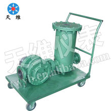 U-type oil filter oil eliminator basket oil filter