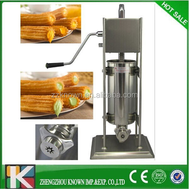 5% discount on the last day ! spanish churro machine and fryer