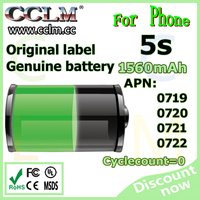 rechargeable battery for iPhone 5s battery replacement