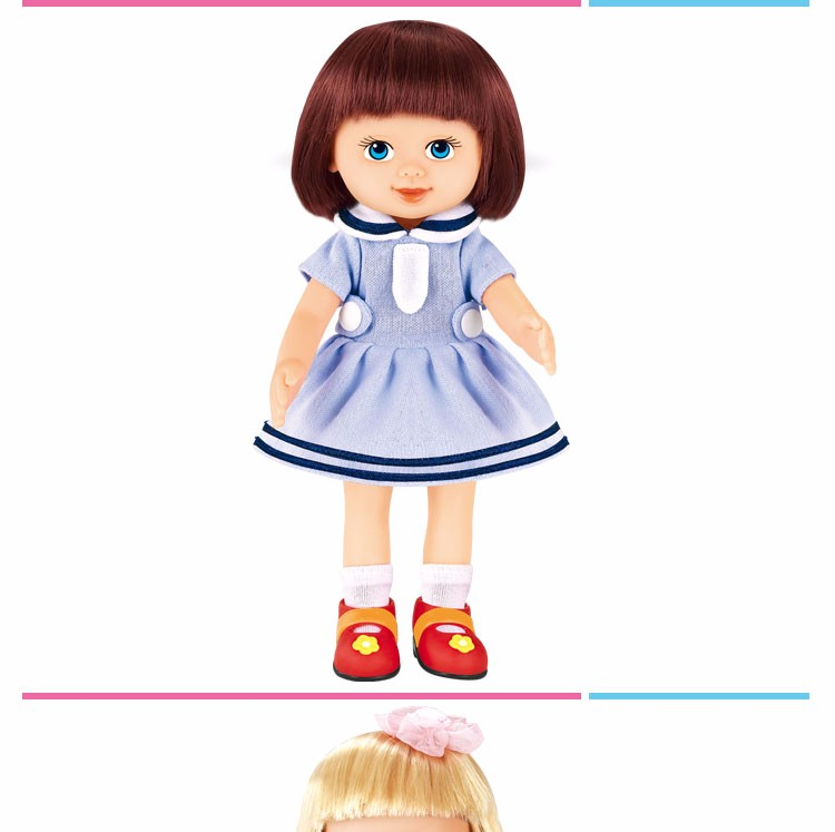 Newest 8 Inch silicone doll for children