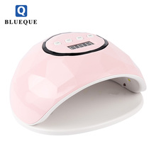 Rechargeable nail led lamps 72w gel uv nail dryer