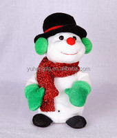 break dance snowman