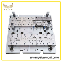 Custom manufacturing precision stamping die sets for battery terminal