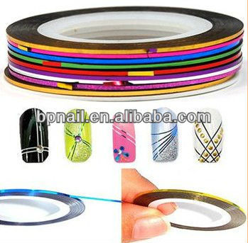 Self Adhesive Nail Art Striping tape,Nail Decoration
