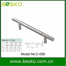 OEM T bar SS pull and pull handle for cabinet kitchen door