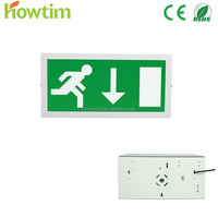 CE/RoHS battery backup LED emergency light with self luminous exit signs
