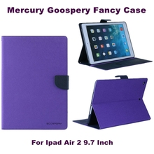 2016 Mercury Goospery fantasia diário PU Wallet Leather Flip Case para Ipad Air 2