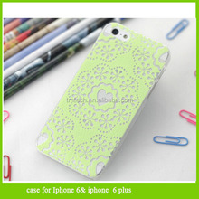2014 Hot Sale Painted flowers hard back cover case for Iphone 4 4S 5 5s 6
