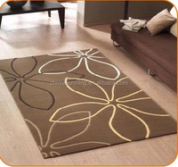 Hand-Tufted/Knotted, Hand-made polyester/acrylic carpet, perfect quality and good selling.