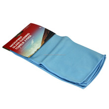2 Pack Auto Shine Microfiber Glass Cleaning Towels Stainless Steel Polishing Shine Cloth Window Windshield Cloth