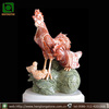 Small Marble Animal Chicken Sculpture Carving