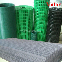 welded wire mesh size chart/pvc coated welded wire mesh