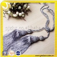 Purple Wholesale Handmade and Machine Curtain Tassel Tiebacks For Curtain and Fasten,decorative blind tassel