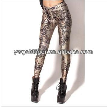 High- end Women Punk Sexy Skinny Brand Clothes Digital Printed Black Milk Middle Earth Map Print Ladies Fashion Leggings