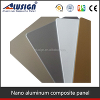 Alusign fire-resistant board color sheet of acp aluminum composite panel with factory price
