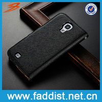 pouch case for samsung i9500 galaxy s4 flip leather case