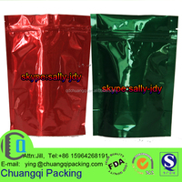 laminated aluminum foil coffee bag with valve