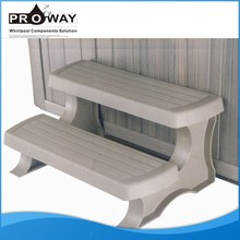 PP Material Hot Tub Swim Spa Steps Spa Accessories Swim Pool wood hot tub steps