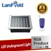 Factory Price 36W Outdoor RGB LED Inground Light With RF Control